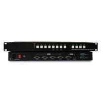 东健宇VGA 4画面分割器 TEC9010MPL4-1V